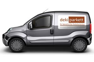 Deki-Parkett Custom Car Magnet
